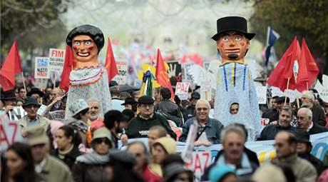 Protesty proti summitu NATO v Lisabonu (20. listopadu 2010)