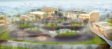 Návrh společnosti MAXWAN Architects + Urbanist.