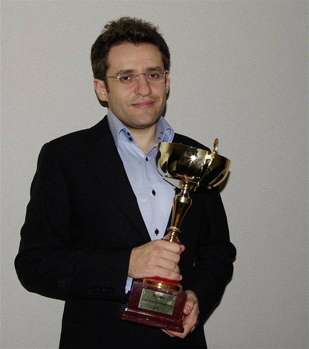 Levon Aronjan, mistr sv�ta v bleskovém �achu a aktuální trojka sv�tového �achového �eb�í�ku