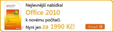 nabídka Office 2010