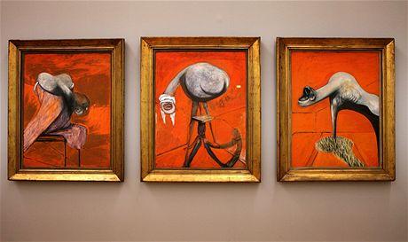 Tate Britain: jeden z nejslavnějších obrazů, drsný triptych Francie Bacona