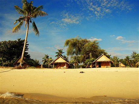 Levné bungalovy na Sunrise Beach, Koh Lipe