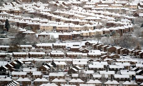 Ve Velké Británii sněžilo tak výrazně už v listopadu naposledy před 17 lety. Na snímku Newcastle (25. listopadu 2010)
