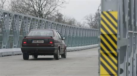 Opravený most ve Vysoké nad Labem