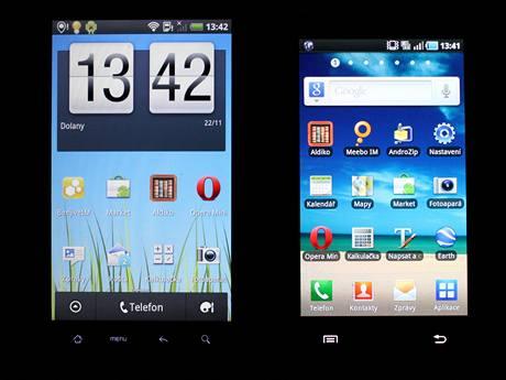 HTC Desire HD vs. Samsung Galaxy S
