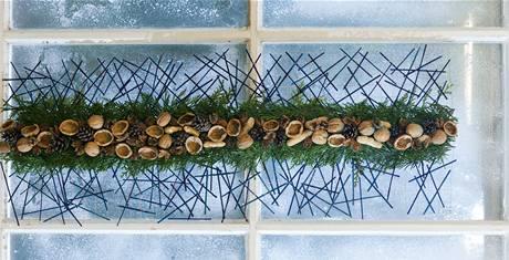 Závěsná dekorace na okno či stěnu