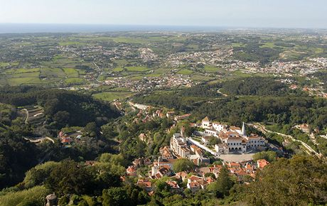 Sintra a okolní krajina je chráněnou památkou UNESCO