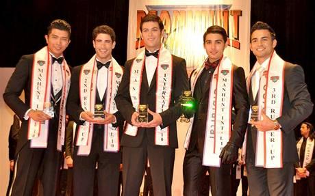 Slovenský Muž roku 2009 Peter Menky získal první místo na světové soutěži krásy Manhunt International