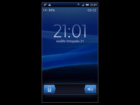 Sony Ericsson Xperia X10 s Androidem 2.1