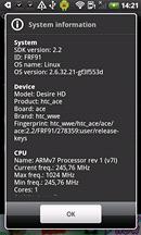 Displej HTC Desire HD (HW)