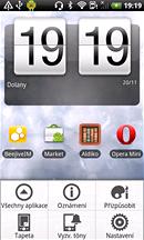 Displej HTC Desire HD (Sense)