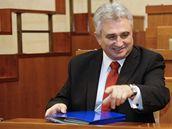 Novým předsedou Senátu se stal sociální demokrat Milan Štěch.