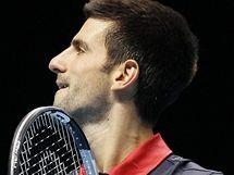 Novak Djokovi� slav� postup do semifin�le Turnaje mistr�