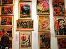 Tate Modern: sbírka sovětských budovatelských plakátů