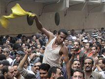 Egyptští křesťané protestují proti zákazu stavby kostela (24. listopadu 2010)