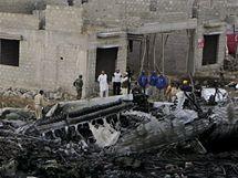 Místo leteckého neštěstí u Karáčí (28. listopadu 2010)