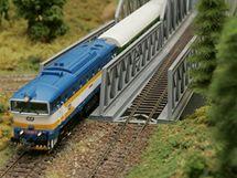 Výstava modelové železnice v Jičíně