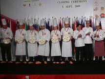V loňském roce Regionální tým Praha úspěšně reprezentoval české kuchaře na mezinárodní soutěži v Thajsku