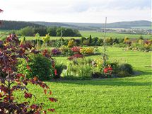 Od jara do podzimu vždy něco kvete, ať jsou to trvalky, letničky, lekníny nebo cibuloviny