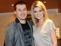 Iveta Lutovská s partnerem