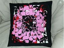 Polštář vyrobený metodou patchwork