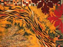 Moderní quilt, patchwork