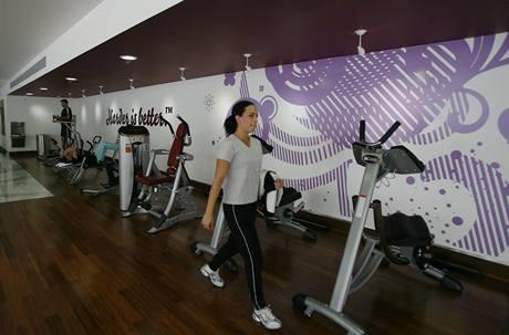 První otevřené fitness center Madonny v Mexiku