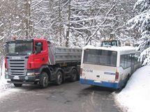 Nehoda u obce Pohledy na Svitavsku