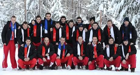 Čeští florbalisté na mistrovství světa v Helsinkách 2010