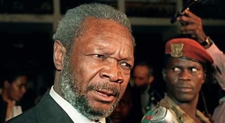 Jean Bedel Bokassa na snímku z roku 1986