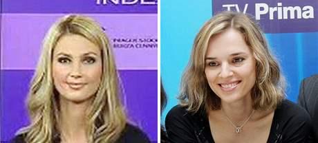 Sandra Parmová (vlevo) a Světlana Zárubová