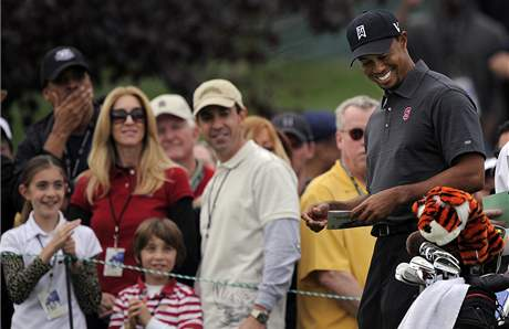 Tiger Woods, Chevron World Challenge, 2. kolo