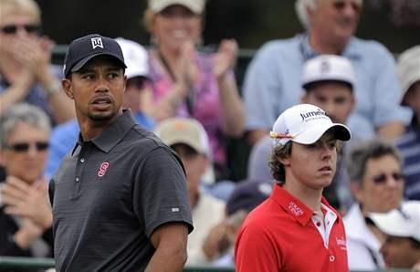 Tiger Woods a Rory McIlroy, Chevron World Challenge, 2. kolo