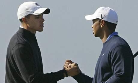 Joseph Bramlett a Tiger Woods