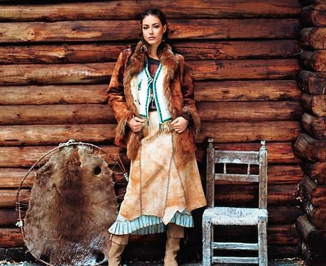 Kožešinová móda.