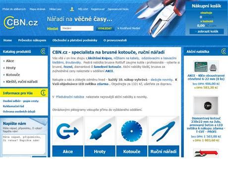 C B N v. o. s. to je  specializovaný internetový shop na brusné a řezné kotouče, nářadí Knipex, Hanstool, Kennametal.