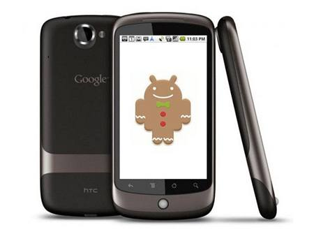 Android 2.3 Gingerbread detail