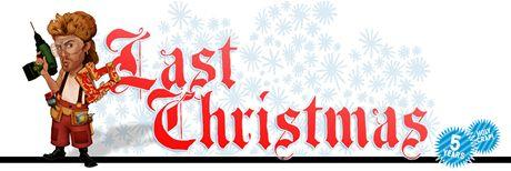 Hlavi�ka internetov� str�nky v�novan� p�sni Last Christmas