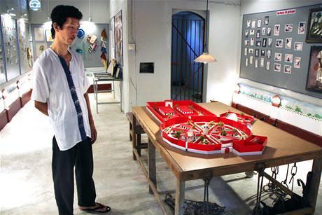 Malé muzeum AAPP ukrývá i maketu nechvalně proslulé rangúnské věznice Insein