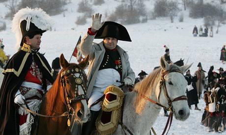 Rekonstrukce bitvy u Slavkova s výročím 205 let