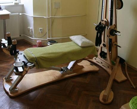 Nový cvičební stroj