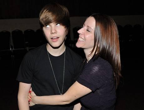 Justin Bieber s matkou Pattie Mallettovou