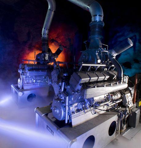 Dieselov� agreg�ty - datov� centrum Pionen