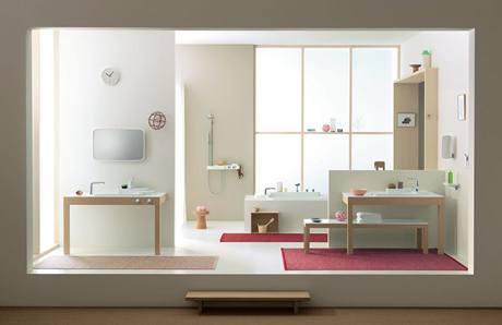 Nové pojetí koupelny dovoluje vytvořit prostor, v němž každý najde své vlastní místo pro regeneraci