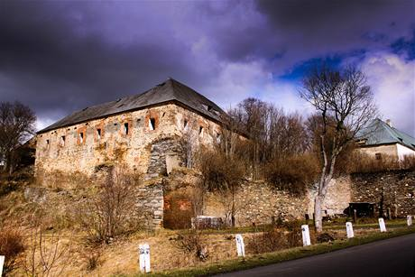 Hlasování odborné poroty -  3.místo. Veronica Prodis - Toužim. Janův hrad.