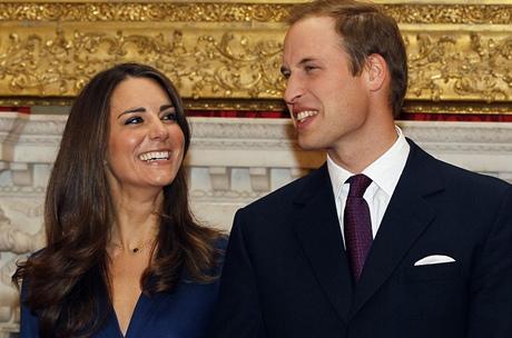 Zásnuby Kate Middletonové a prince Williama