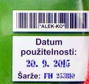 datum použitelnosti