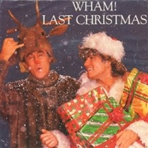 Obal singlu Wham! se skladbou Last Christmas