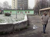 S�dli�t� v Ostrav� - Z�b�ehu, odkud je raper, kter� s no�em za�to�il na d�ti, i dal�� mlad� rape�i.