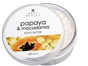 Tělové máslo s papájou a makadamovými ořechy, Body Basics